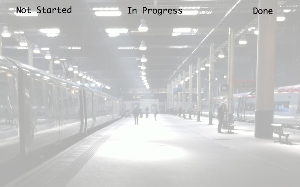 Kanban Board - Desktop background - Light