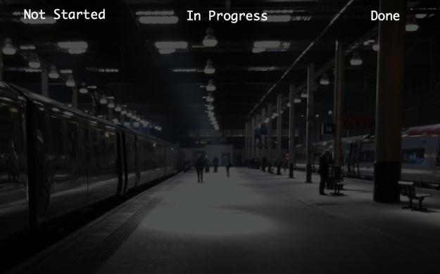 Kanban Board - Desktop background - Dark